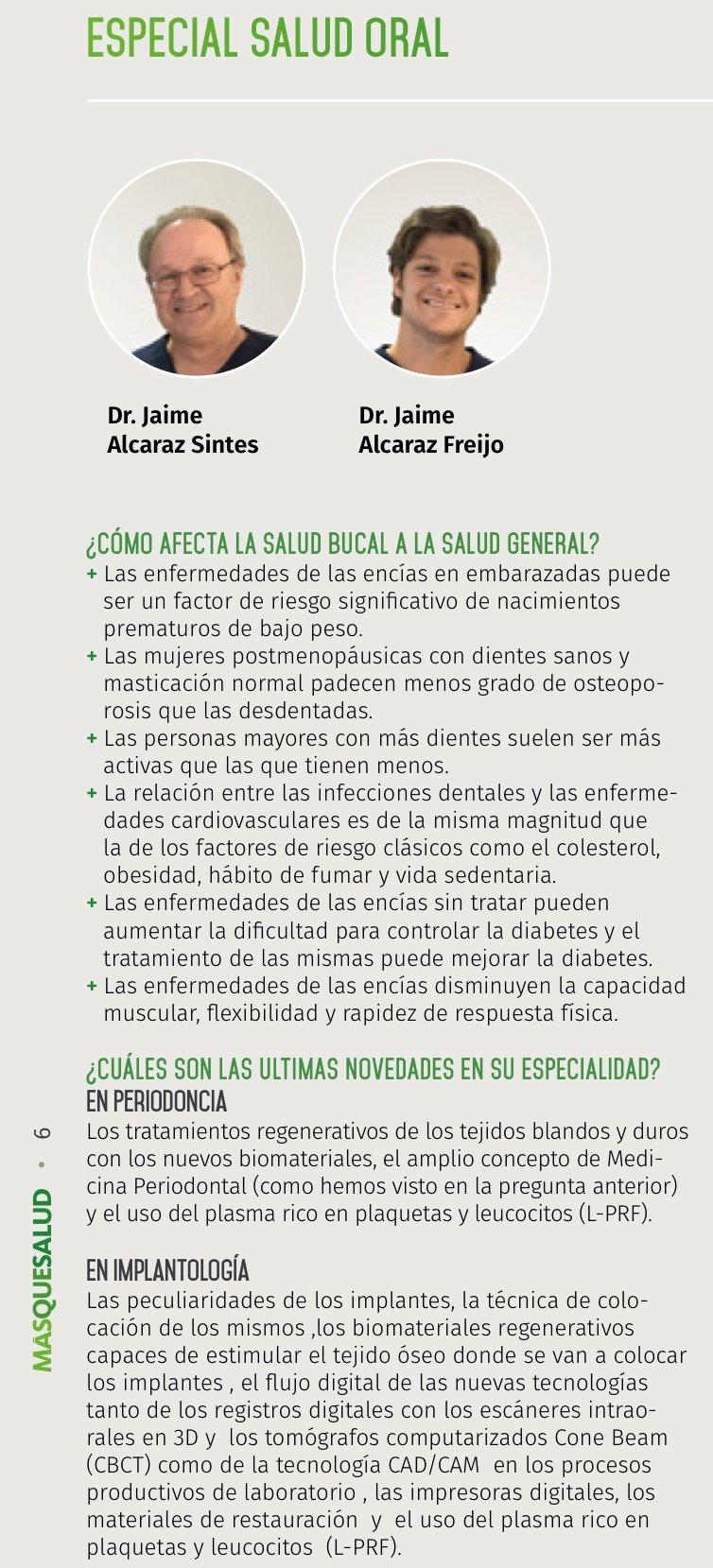Entrevista Dres.Jaime Alcaraz