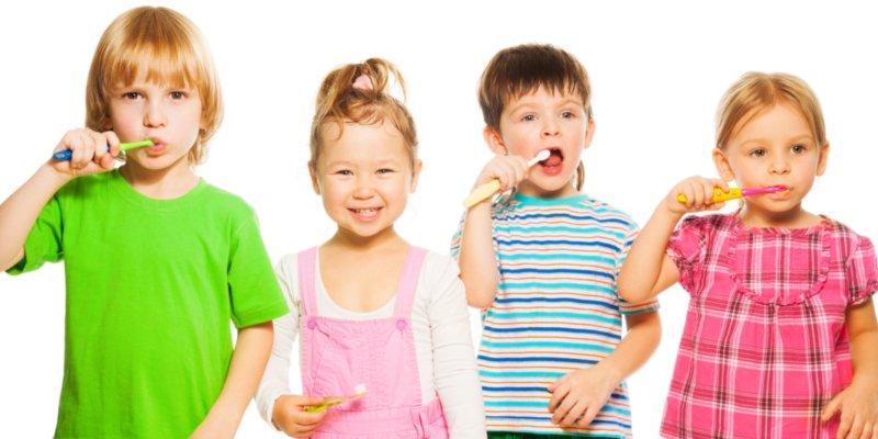 higiene dental en niños