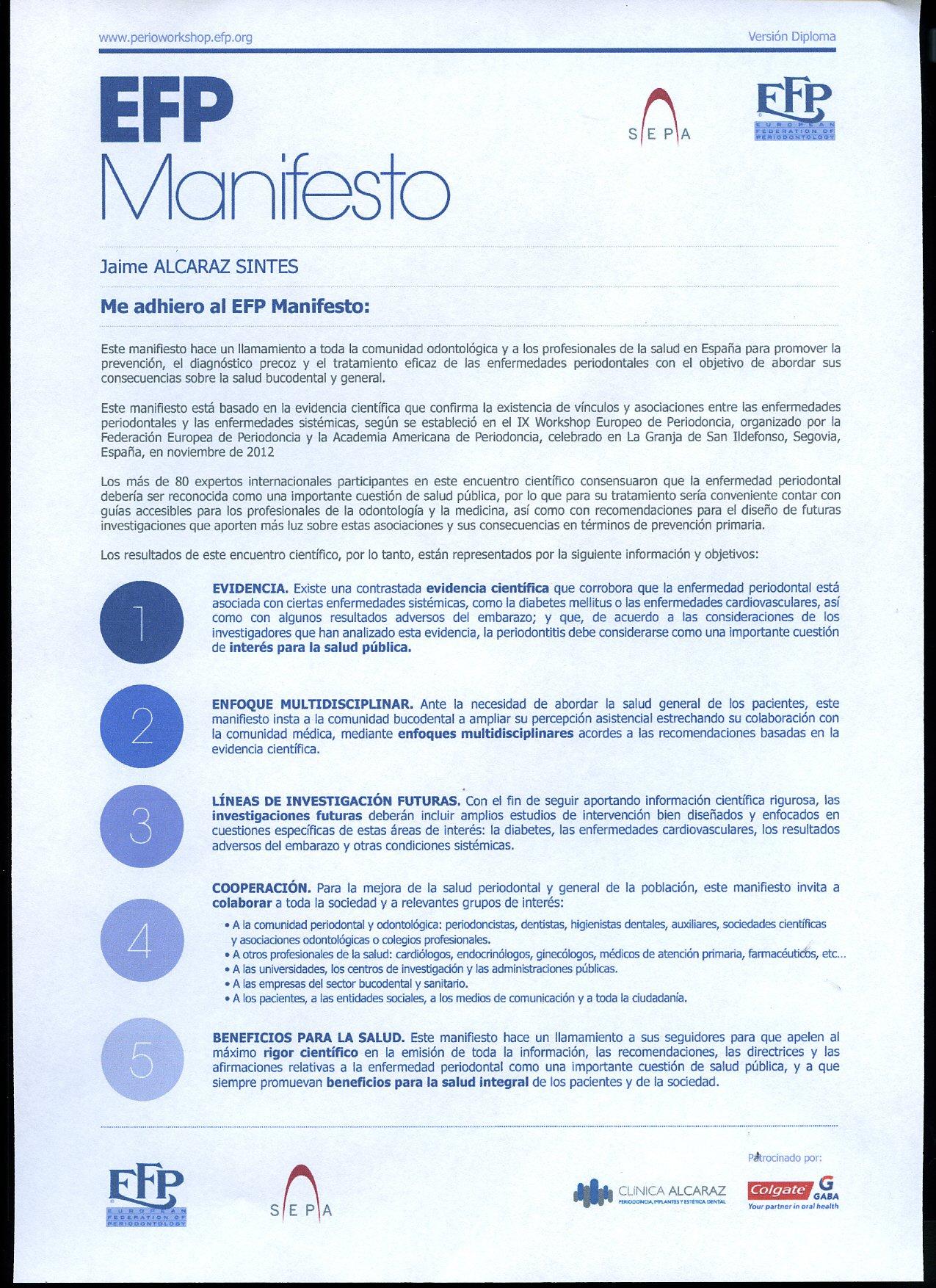 manifiesto efp